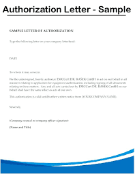 Sample Letter Of Authorization For Getting Documents To Process Land