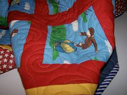 amusing curious george bedding