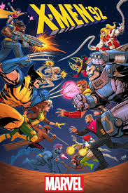 as part of secret wars the cartoon version of the characters returned in the mini series x men 92 in which the team was featured as part of the patchwork