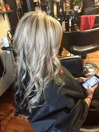 Platinum Blonde With Lowlights And Dark