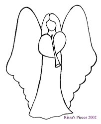 angel drawings for christmas ornaments | my special angel paper ...