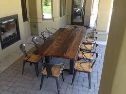 Large Dining Tables To Seat 10 Aluminum Swivel Bar Stools Black Metal Finish Aluminum