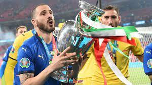 """ليوناردو بونوتشي: هتاف """"عودة كرة القدم"""" حفز إيطاليا للفوز ببطولة أوروبا  2020"""