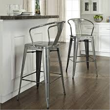 extra comfortable vintage metal bar stools for awesome kitchen ideas with  back and arm together with