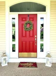 Orange front door Mid Century Sherwin Williams Door Paint Red Front Door Orange Front Door Front Door Paint Colors Wall Red Antique Home Sherwin Williams Door Paint Colors Photos Hgtv Sherwin Williams Door Paint Red Front Door Orange Front Door Front