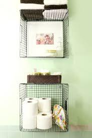 hang baskets on the wall