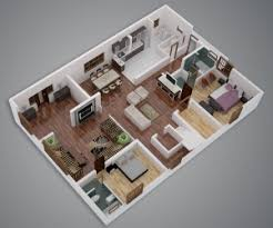 Small Picture 3 Bedroom ApartmentHouse Plans