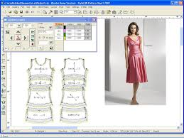 Cad Cam Computer Pattern Designing Sewing And Style Den Best Software For Pattern Making