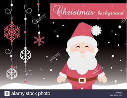 Merry Christmas Banner Print Merry Christmas Cute Santa Claus Vector Illustration Printable