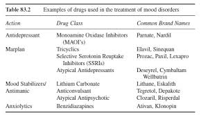 Mood disorders research paper