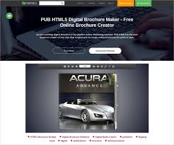 Online Brochure Creator Free 23 Free Brochure Maker Tools To Create Your Own Brochure Design