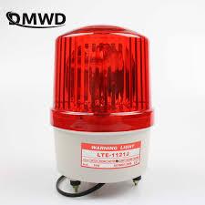 Small Rotating Beacon Light Ac110v 220v 380v Warning Alarm Construction Lamp Bulb