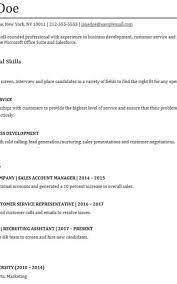 How To Make A Functional Resume Formatted Templates Example