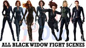 All Black Widow fight scenes ...