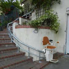 curved stair chair lift. Hawle - Outdoor. LOS ANGELES STAIR LIFTS Curved Stair Chair Lift O