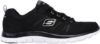 skechers black walking shoes. skechers women\u0027s flex appeal spring fever walking shoes black