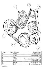 Ford zx2 serpentine belt diagram picture