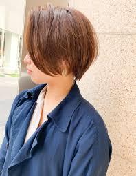 前髪長め前下がりショートom 212 ヘアカタログ髪型ヘア