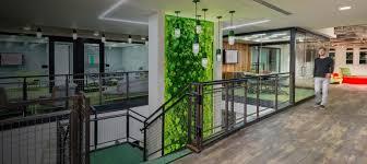 vertical garden biophilic design