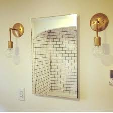 Sconces Modern Wall Sconces For Bathrooms Modern Wall Sconce Delectable Mid Century Bathroom Remodel Minimalist