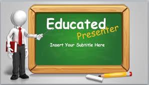 list of powerpoint topics educated presenter powerpoint template jpg