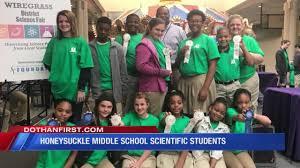 Honeysuckle Middle School Scientific Students