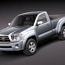 Toyota Tacoma Single Cab 2010 3D Model $129 - .obj .max .lwo .fbx ...
