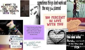 Emo Love Quotes Amazing Emo Love Quotes 'I Made In A Poster Thing Minecraft Blog