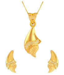 tbz the original 22k yes yellow gold pendant set tbz the original 22k yes yellow gold pendant set in india on snapdeal
