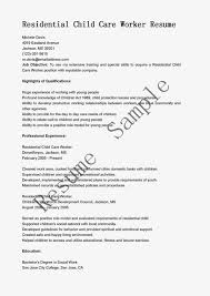 Resume Samples Residential Child Care Worker Resume Sample.