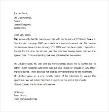 Landlord Reference Letter Template 10 Samples Examples Formats