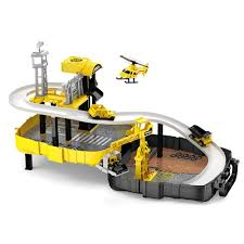 2019 assemble track toys diy railway magical racing track play set educational rail car toy racing bridge bus station construction from curd