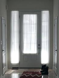 extra window treatment for front door sidelight covering amusing your home curtain inch idea blind cellular shade of house side panel porch double large