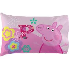 Peppa Pig Bedroom Accessories Peppa Pig Tweet Tweet Oink Sheet Set Walmartcom