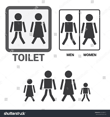 men s bathroom sign vector. Vector Man Woman Restroom Sign Black Stock Men S Bathroom A