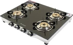 Wonderchef Ruby Glass Manual 4 Burners Gas Stove Price And Offers In
