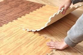 60cm 1cm wood grain printing puzzle mats foam floor carpet crawling game mats excersizing eva sport