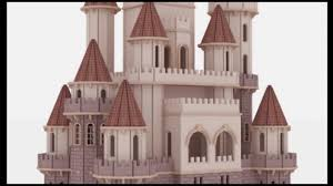 Fantasy Castle Doll House Laser cutting plans CNC router Scroll saw pattern  - YouTube