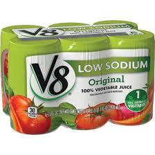 detalles acerca de 12 packs v8 original de sodio de baja 100 vegetal jugo 5 5 oz approx 155 92 g 6 conde cada paquete mostrar título original