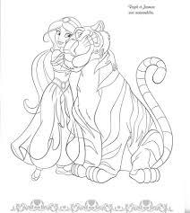 Pingl Par Marjolaine Grange Sur Coloriage Aladdin Pinterest