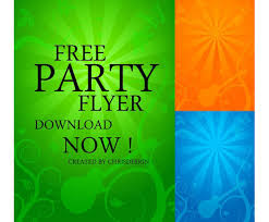 Flyer Backgrounds Free Free Party Flyer Background Vector