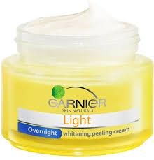 50g garnier light night whitening lightening dark spots skin face cream