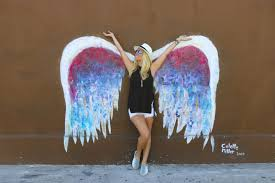wings wall art los angeles