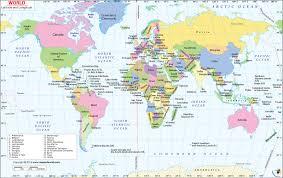 Latitude And Longitude Map World Map With Latitude Longitude