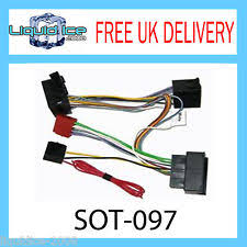 mercedes benz sprinter wiring looms sot 097 mercedes sprinter 2006 onwards iso parrot harness adaptor wiring lead