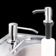 500ml <b>stainless steel kitchen</b> soap dispenser <b>diy</b> sink liquid ...