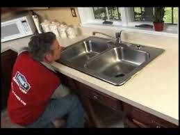 how to replace a kitchen sink youtube