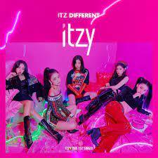 ITZY - IT'z Different (Online Album Cover) : kpop