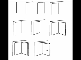 open door drawing. Unique Drawing How To Draw An Open Door Step By Drawing Tutorial For R