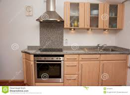 Kitchen Unit Kitchen Unit With Granite Top Royalty Free Stock Image Image